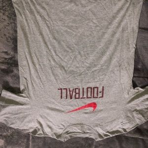 "Nike ""football"" T-shirt."